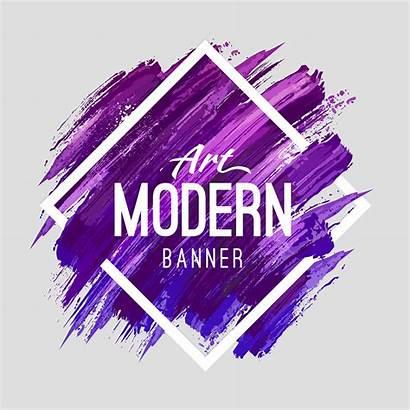 Banner Vector Modern Frame Background Text Vectors