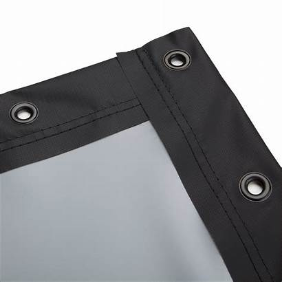 Screen Grommets Projector Projection Screens Edge Finished