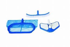 Kit Entretien Piscine Gonflable : kit de nettoyage pour piscine intex deluxe accessoires d ~ Dailycaller-alerts.com Idées de Décoration