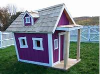 playhouses for kids Kids Crooked House Raising the Roof for Children's Charities