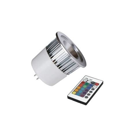 remote controlled color changing multi color led light