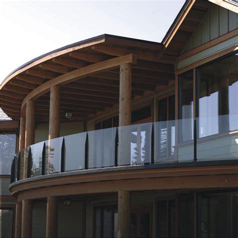 patio railings glass mystic frameless glass