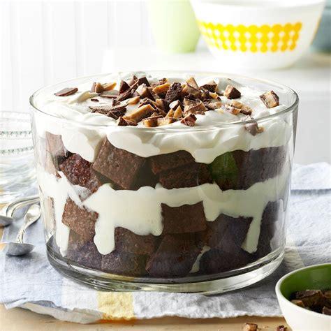 toffee brownie trifle recipe taste  home