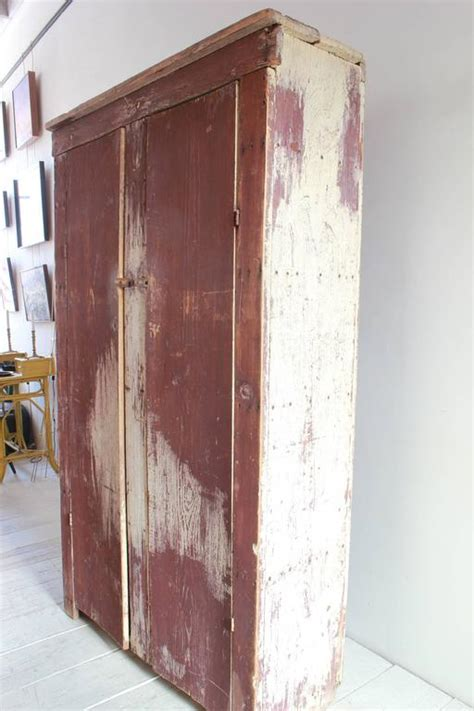 depth of kitchen cabinets rustic two door painted cabinet at 1stdibs 8604