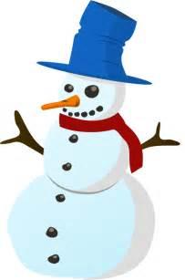 Christmas Snowman Clip Art Free