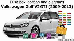 Fuse Box Location And Diagrams  Volkswagen Golf Vi Gti
