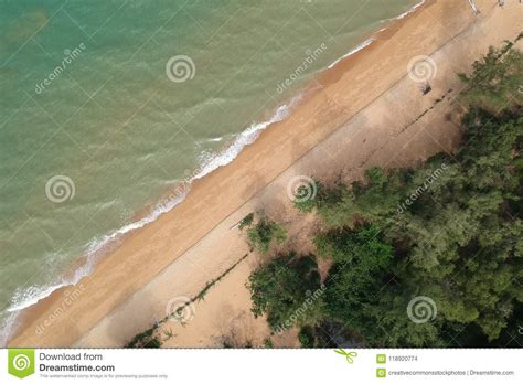 Aerial View Of Body Of Water Picture. Image: 118920774