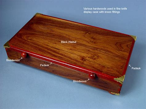 wood knife display case plans