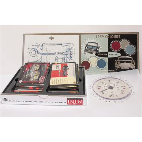upper deck box of 6pcs the mini collection 45 premium