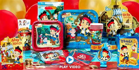 jake and the neverland decorations jake and the never land supplies city