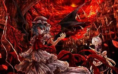 Sakuya Remilia Touhou Scarlet Izayoi Anime Flandre
