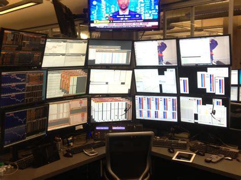 the trade desk stock trading desk photos business insider