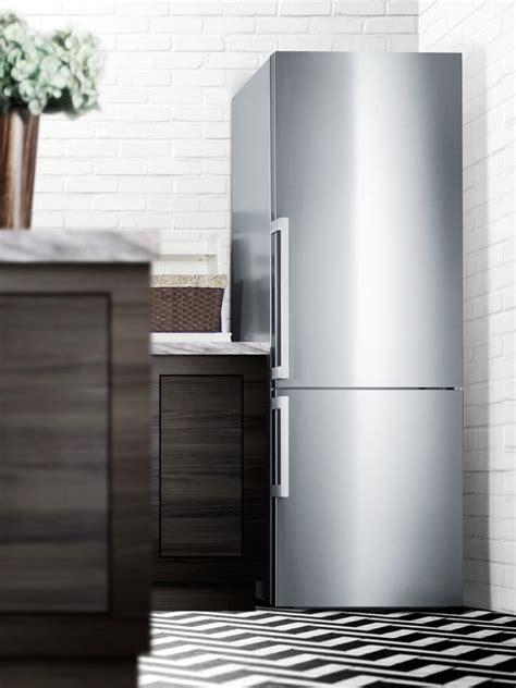 summit ffbfssim   bottom freezer refrigerator