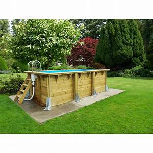 Petite Piscine Hors Sol Bois : piscine hors sol bois urbanpool ubbink l x l x ~ Premium-room.com Idées de Décoration