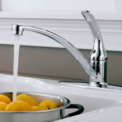Kitchen Water Faucets by Kitchen Faucets The Home Depot