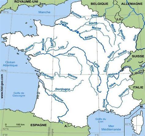 Carte De Avec Fleuves Et Rivières by Carte Des Fleuves Et Rivi 232 Res De Arts Et Voyages
