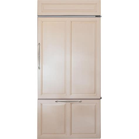 ge monogram zicnhrh    cu ft counter depth bottom freezer refrigerator