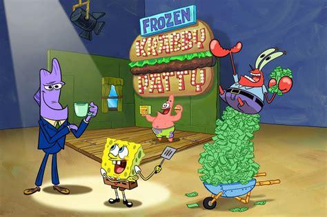 goodbye krabby patty spongebob  animations