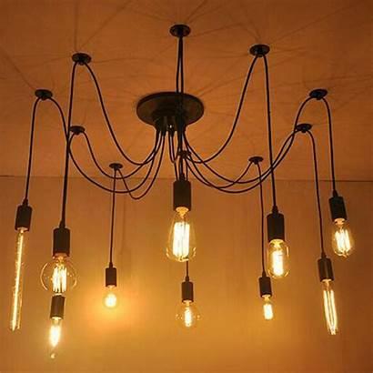 Spider Ceiling Pendant Lighting Al Suspension 10sp