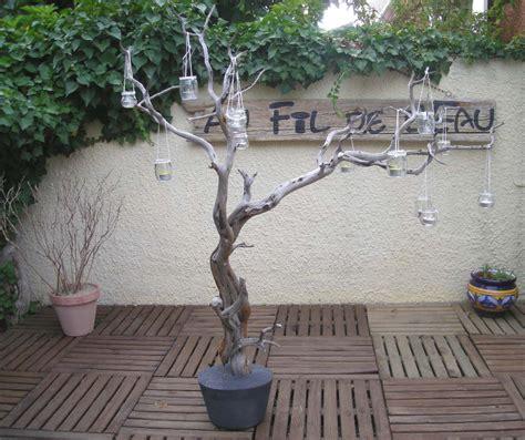 branche lumineuse n 176 1 au fil de l eau bois flott 233