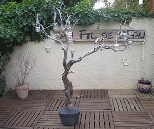 Arbre En Bois Deco : branche lumineuse n 1 au fil de l 39 eau bois flott ~ Premium-room.com Idées de Décoration