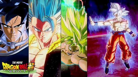 Ultra Instinct Goku Vs All Dbs Broly Movie Characters