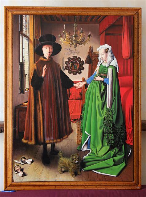 oil painting reproduction  arnolfini portrait