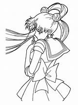 Sailormoon Coloring Pages Series sketch template