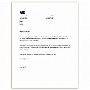 free microsoft word cover letter templates letterhead and fax cover With fax cover letter for resume
