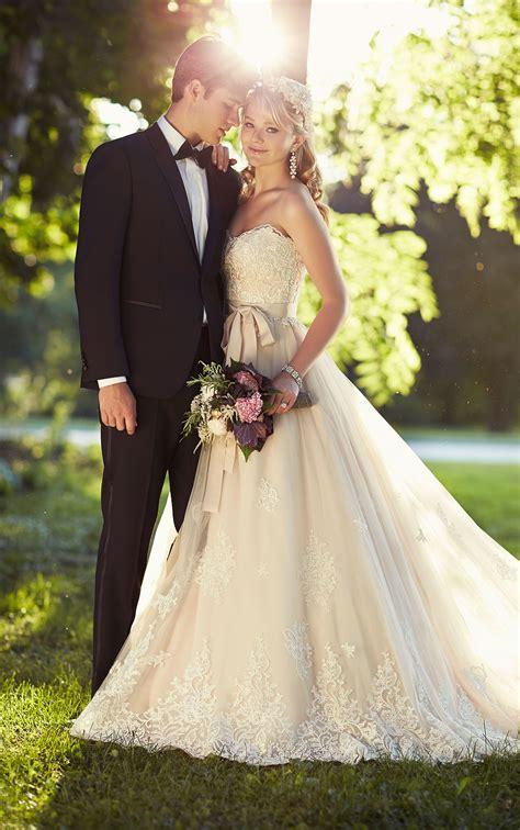 lace  tulle designer wedding dress essense  australia