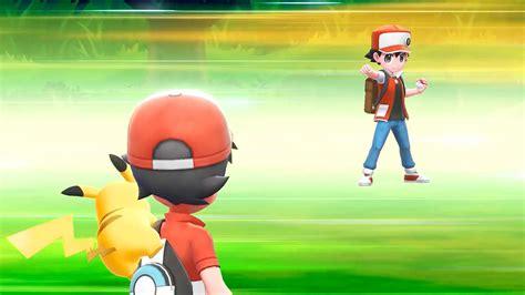 pokemon lets    battle red gamespot