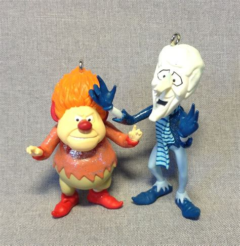 heat miser christmas ornament year without a santa claus the heat miser and snow miser house of ornaments