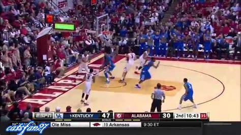 Kentucky vs. Alabama 1/17/15 - YouTube