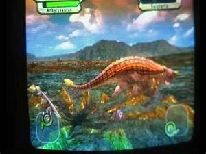 dinosaur king gameplay ankylosaurus - YouTube