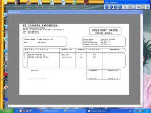 30 Per Sheet Label Template Delivery Order