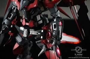 GUNDAM GUY: MG 1/100 Gundam Exia Dark Matter - Painted Build