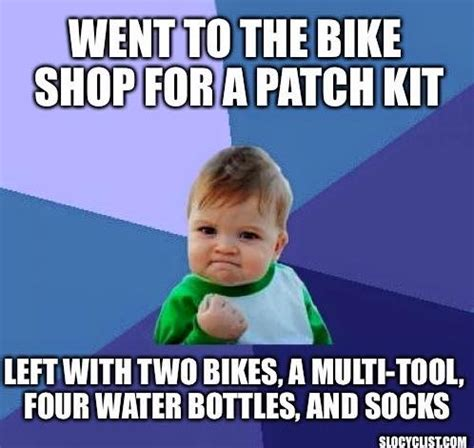 Cycling Memes - our favorite bicycling memes slo cyclist