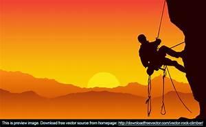 Rock Climber Free Vector | free vectors | UI Download
