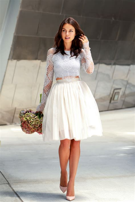 How To Wear A Crop Top And Make It Look Chic  Glam Radar