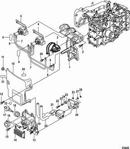 Mercury Marine 25 Hp Efi  3 Cylinder   4