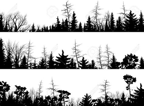 Tree Tops Template by 25 Best Ideas About Tree Silhouette Tattoo On Pinterest