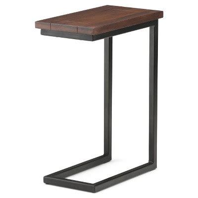 Skyler C Side Table  Dark Cognac Brown  Simpli Home  Target. Glass Dining Room Table. Modern Townhouse. Deep Seated Sofa. Thunderbird Pools. Costco Bali Blinds. Kohler Shower Pan. Foyer Light. Grey Nursery