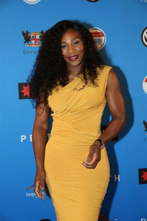 dress u can see denim serena williams in bright yellow for the australian