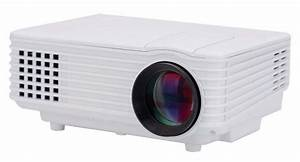 Portable Rd805 Manual Focus 800 Lumens Mini Lcd Projector