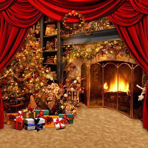 Xmas Curtain Lights by Popular Red Holiday Background Buy Cheap Red Holiday
