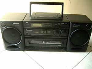 Radio Cd Kassette : panasonic stereo boombox am fm radio cassette cd player ~ Jslefanu.com Haus und Dekorationen
