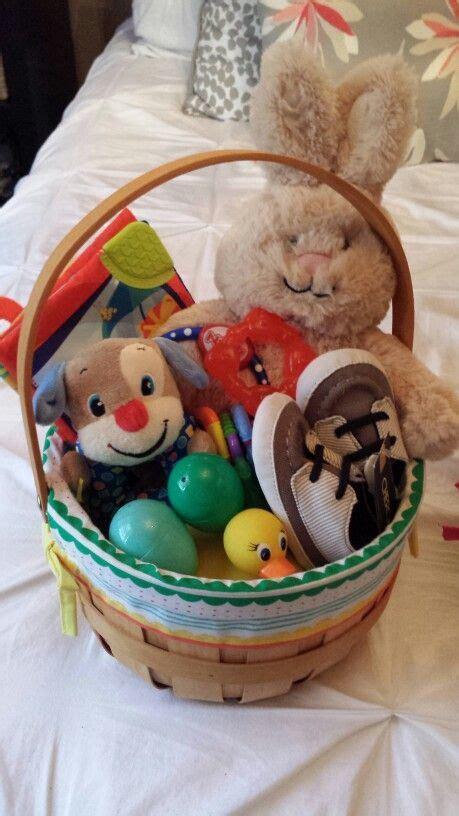 babys  easter basket easter basket  baby boy