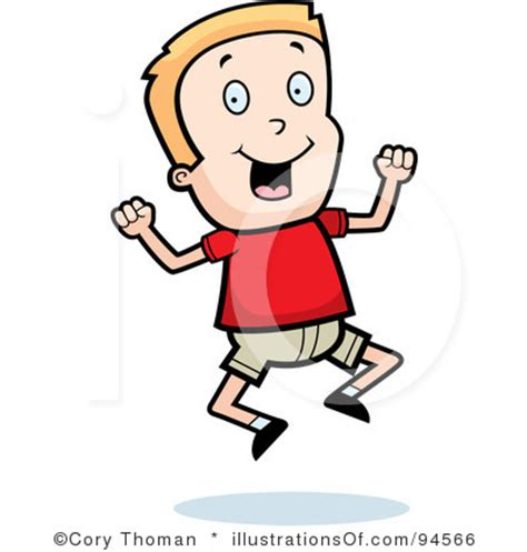 Excited Clipart Excited Boy Clipart