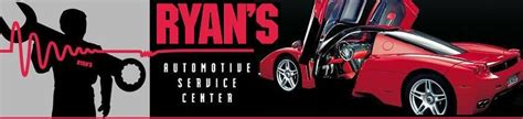 ryans automotive service center auto repair  fairfield