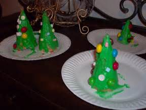 kids craft edible christmas tree cones mommysavers
